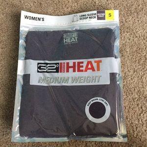 32 Degrees Heat Long Sleeve Heather Violet